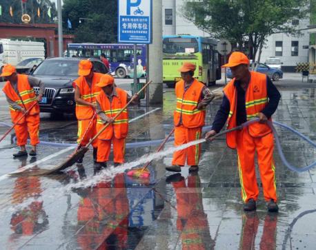 保洁道路清扫