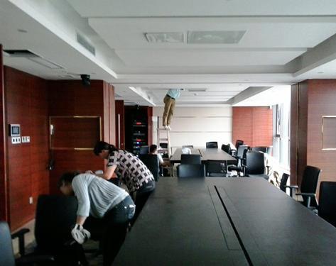 会议室保洁