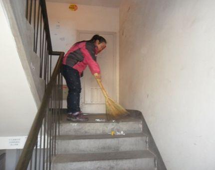 吴江小区楼道保洁