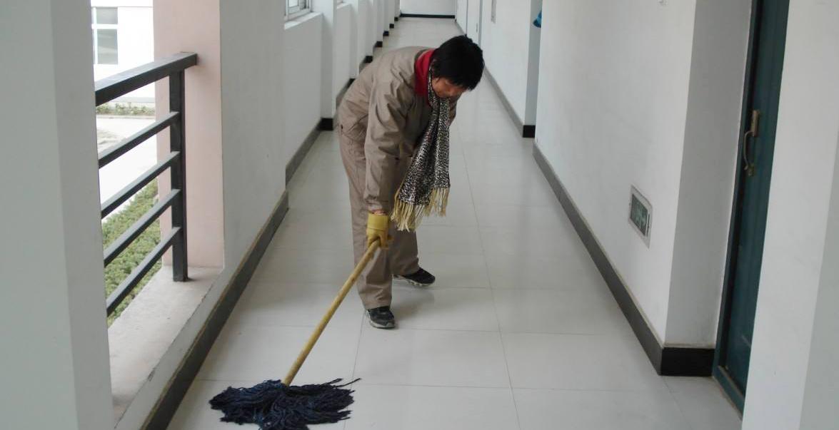 常熟小区物业保洁
